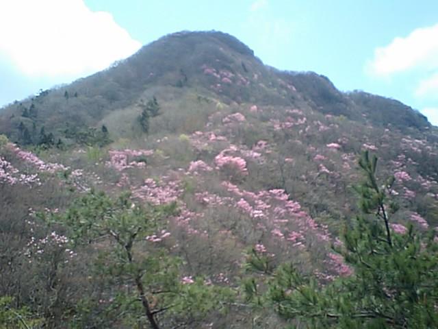 『がんば亭』と西赤石山