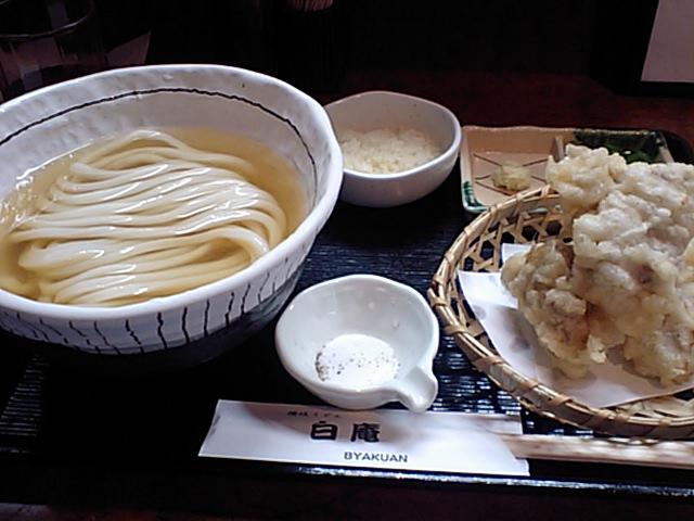 大阪『讃岐うどん 百庵』