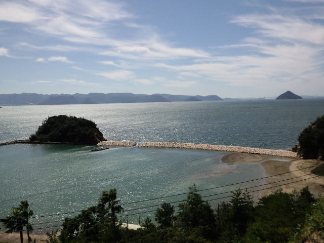 直島『木の崎うどん』