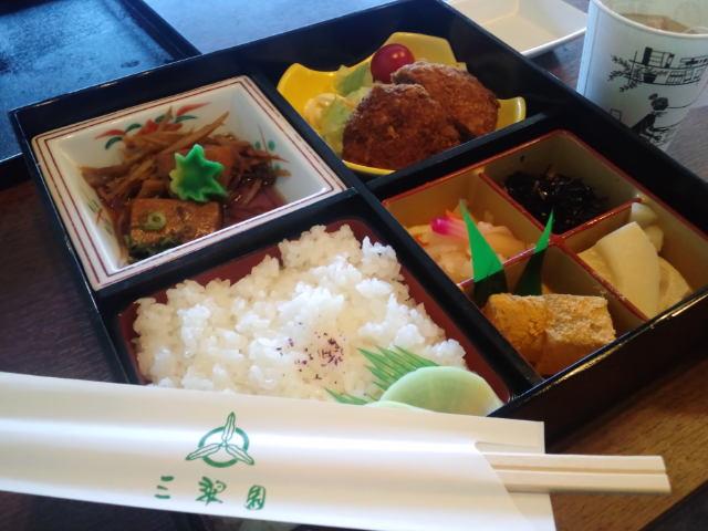 『三翠園のお弁当』